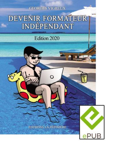 Couverture du livre Devenir formateur indépendant en version ePub
